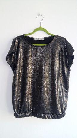 Bluzka 38 M bluzka złota srebrna impreza