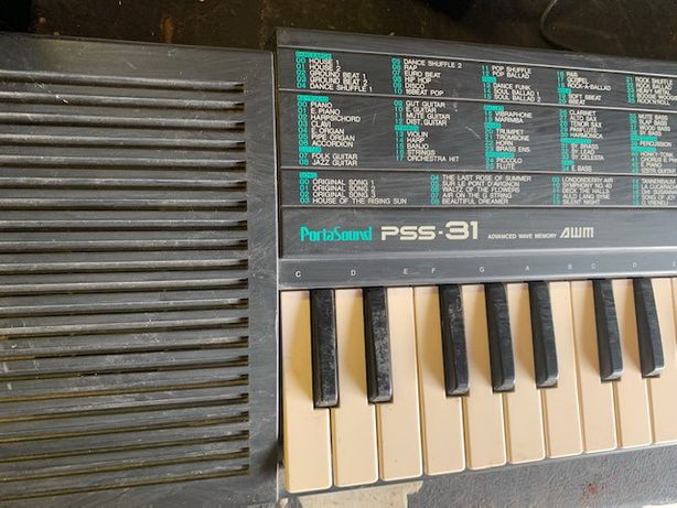 Синтезатор Yamaha ямаха pss 31