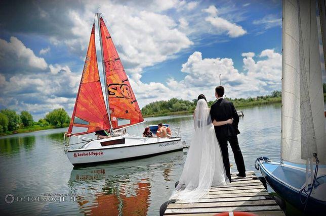 Jacht kabinowy łódka żagle kadet już zwodowana możliwość oględzin zek