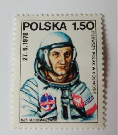 Znaczek pocztowy, Hermaszewski