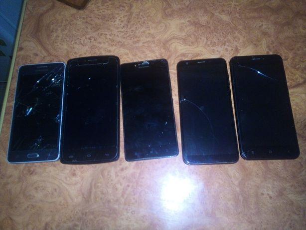 Смартфони і телефони на запчастини