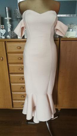 Hiszpanka syrenka sukienka pianka roz. 40
