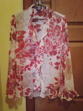 Блузка с воланами, Marks&Spenser