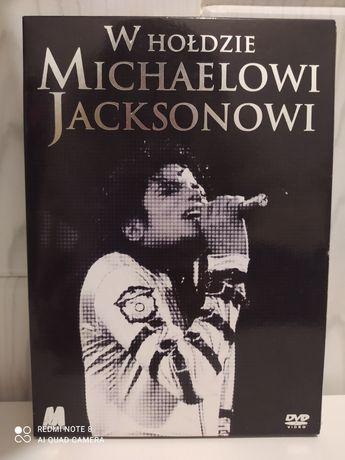 Film dvd W hołdzie Michaelowi Jacksonowi  -PL