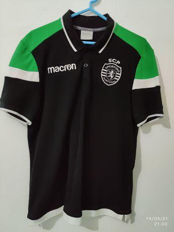Polo oficial Sporting Tamanho S (Novo)