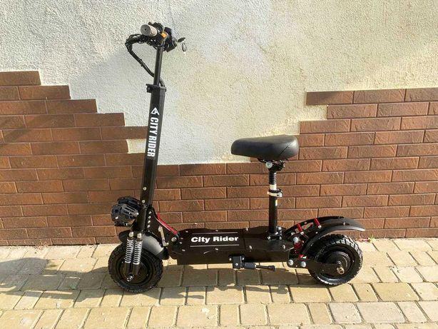 Полноприводный электросамокат City Rider Smart