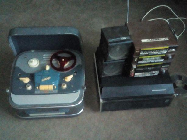 Бабиники, магнитофон МЛ-6201 стерео