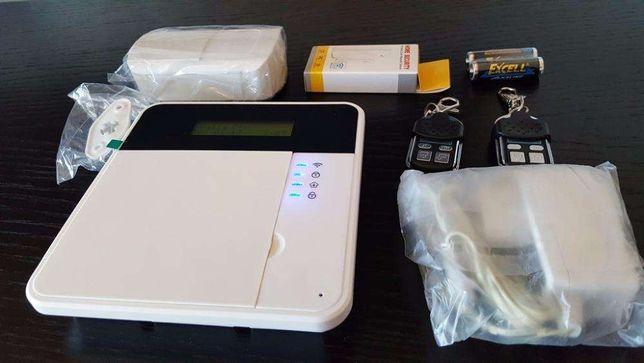 Alarme GSM com ou sem fios casa habitação loja wireless android ios