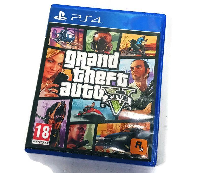 Gra Grand Theft AutoV ps4 Bydgoszcz - image 1