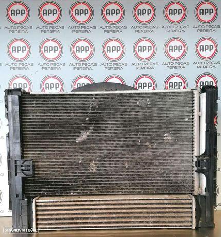 Radiadores BMW E90/E91 320 D de 2008, radiador intercooler, água, ar condicionado.