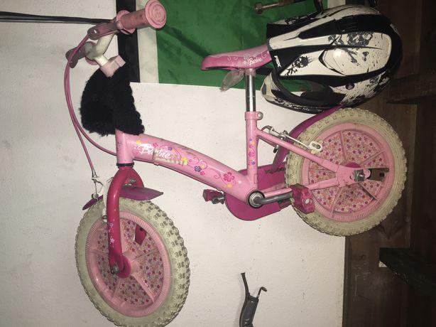 Bicicleta de criança Barbi