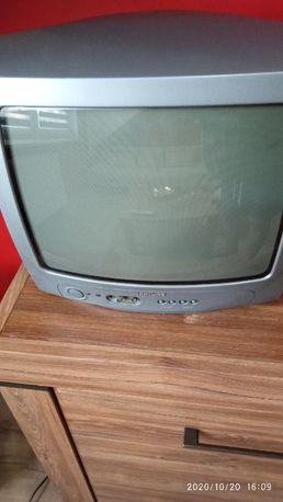 Sprzedam telewizor kineskopowy Philips 14 cali z pilotem.