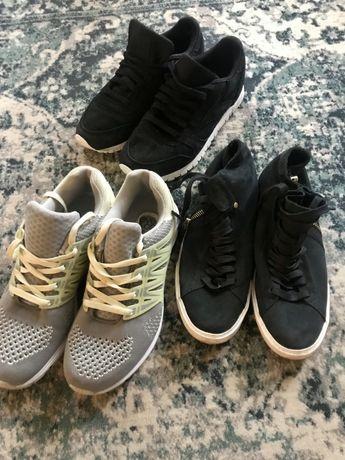 Buty trzy pary