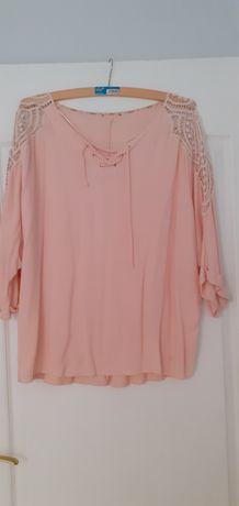 Bluzeczka w kolorze pudrowym