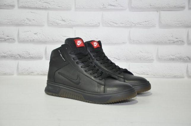 Высокие демисезонные кроссовки, мужские высокие кроссовки, Nike, Найк