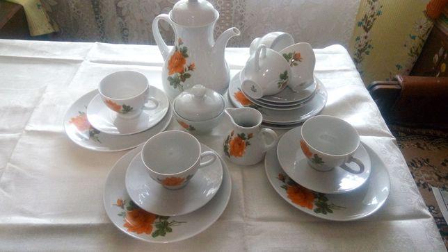 Фарфор сервиз чайный