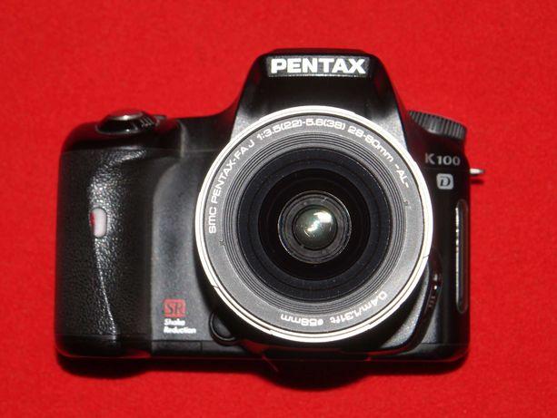 Pentax K100d + 28-80mm * CCD-матрица * Пробег 20 тысяч