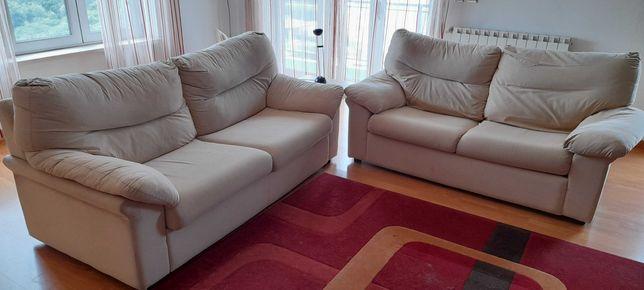 Sofá 3 lugares + sofá-cama 2 lugares