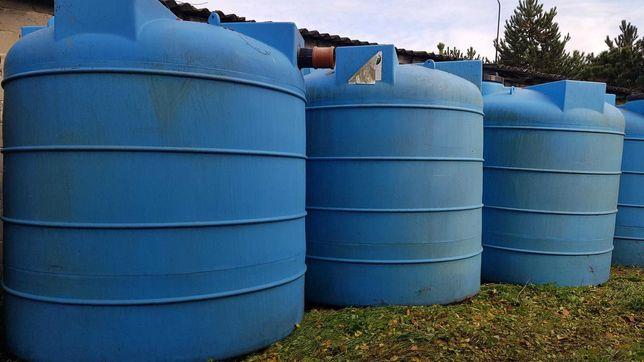 Nowe 5 zbiorników wodnych na retencję, deszczówkę 10 000l, 2019r