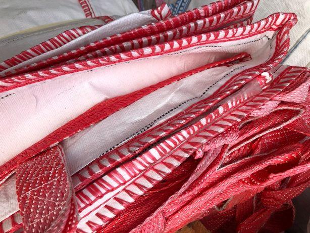big bag worki bigbagi bigbegi używane czyste na 500 kg 1000 kg zboża