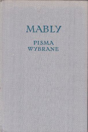 MABLY - Pisma Wybrane .