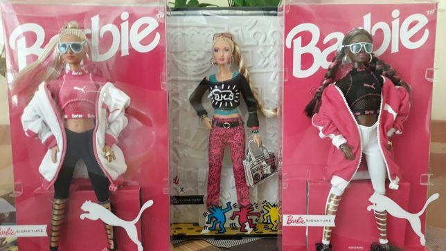 Кукла Барби пума Barbie Puma Doll и Кейт Херинг Keith Harin оригинал