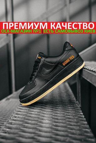 "Кроссовки Nike Air Force GORE-TEX ""Full BLACK"" водонепроницаемые"