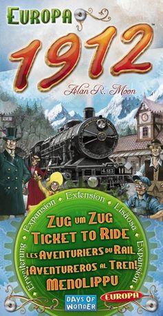 Wsiąść do pociągu Europa 1912 - dodatek do gry