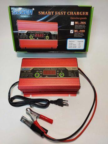 Универсальная зарядка для аккумуляторов LiFePO4 Suoer ML-20B 12V 14,6V