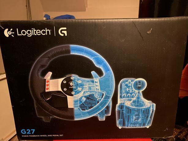 Kierownica logitech G27