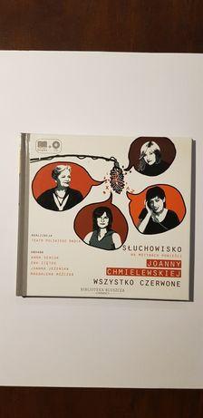 """Joanna Chmielewska """"Wszystko czerwone"""" słuchowisko na CD"""