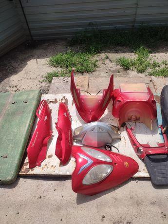 Пластик на скутер baracuda fada 125 150 разборка скутера на запчасти