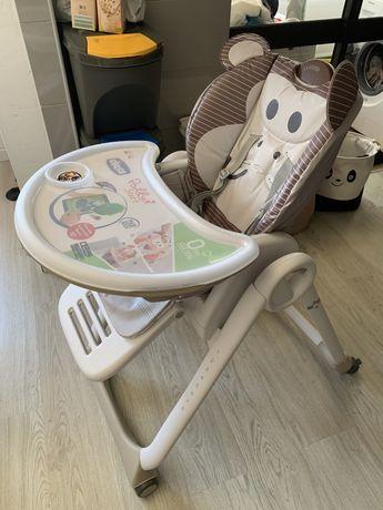 Cadeira da papa Chico Polly start