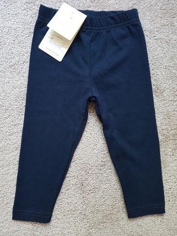 Nowe legginsy r.80