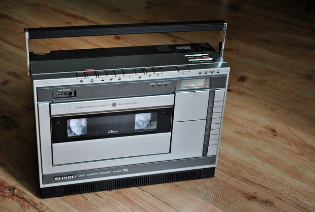 Magnetowid VHS Sharp VC-3300W