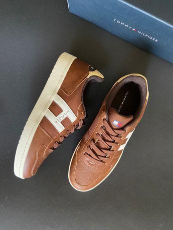 Мужские кожаные кроссовки Tommy Hilfiger