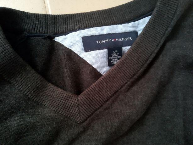 Sweter kamizelka Tommy Hilfiger S