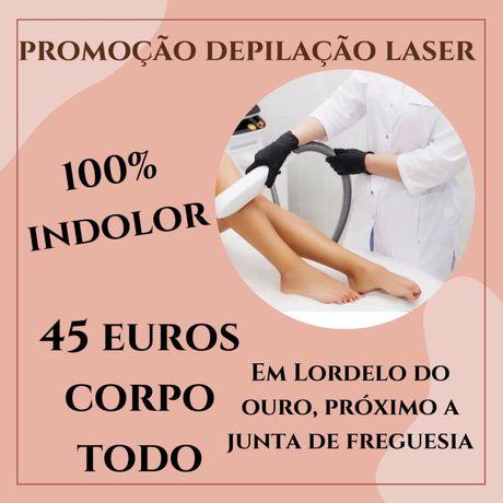 Massagem e Depilação Laser