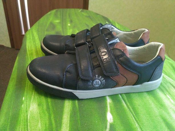 Туфли кроссовки Мокасины для мальчика Р.36