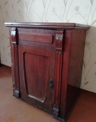 Антиквариат швейная машиная Original Victoria Fabric-Marke