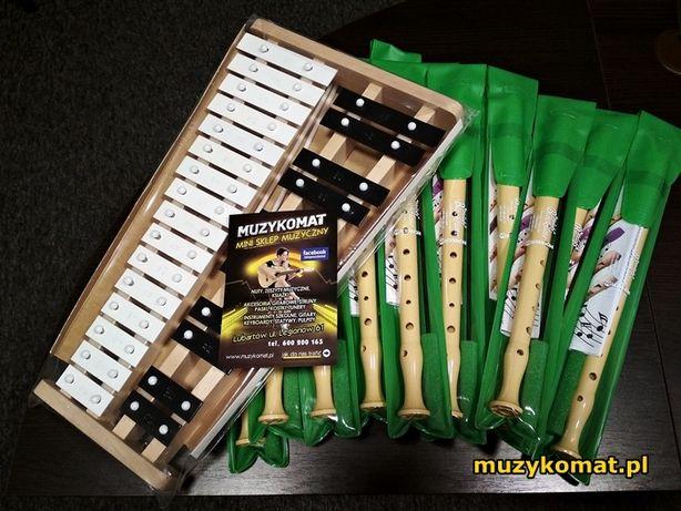 Instrumenty szkolne - flety i dzwonki dobrej jakości!