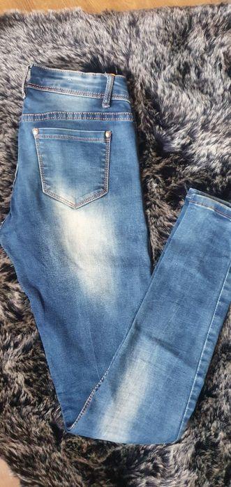 Spodnieee jeansy Dębica - image 1