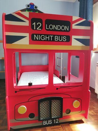 Beliche como imagem de um autocarro Inglês