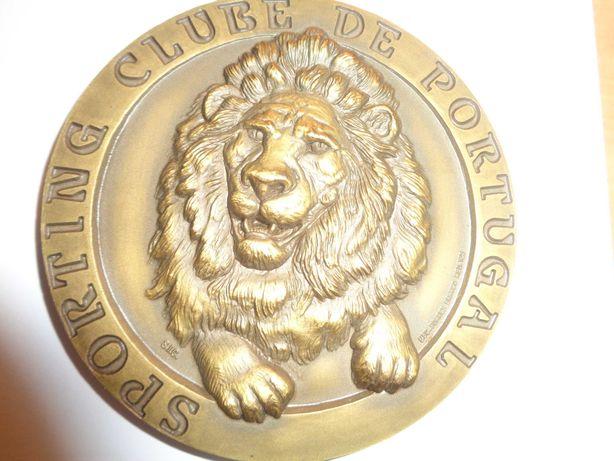 Medalha Sporting Clube de Portugal  Devoção Glória 80mm