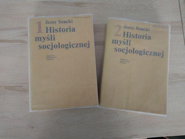 Historia mysli socjologicznej (2 tomy) Jerzy Szacki