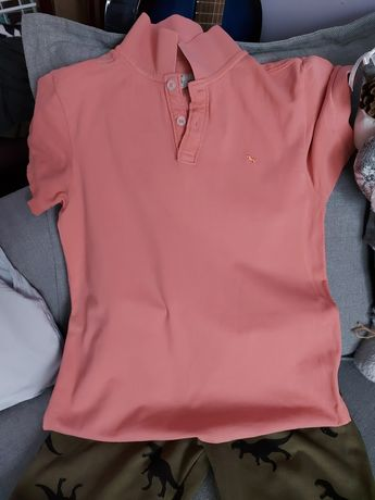 Zestaw spodnie dresowe i koszulka 140