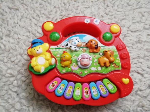 Interaktywna zabawka do nauki języka angielskiego Bell jak NOWA