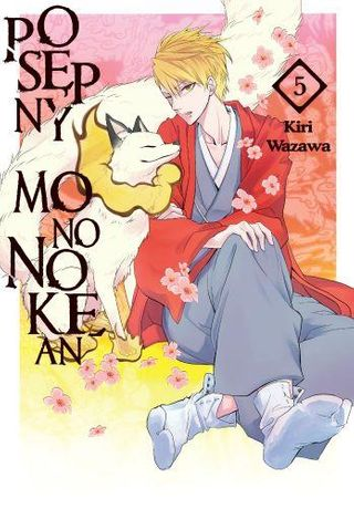 Posępny Mononokean 05 Kiri Wazawa manga