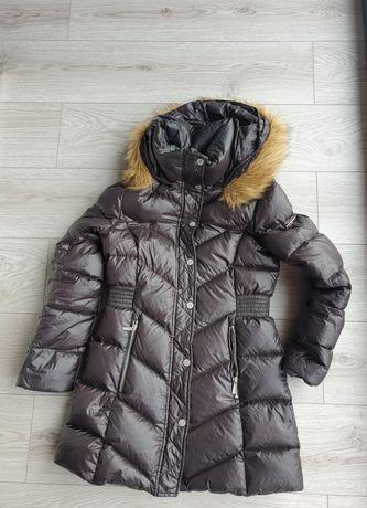 Kurtka Karl lagerfeld rozmiar m 38 czarna zimowa modna płaszcz