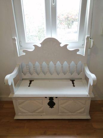 Arca madeira branca